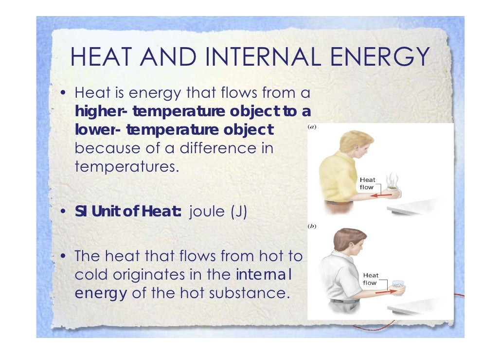 Heat and Temperature Change:        Specific Heat Capacity •SSpecific H t C        ifi Heat Capacity: iis th h t th t must...