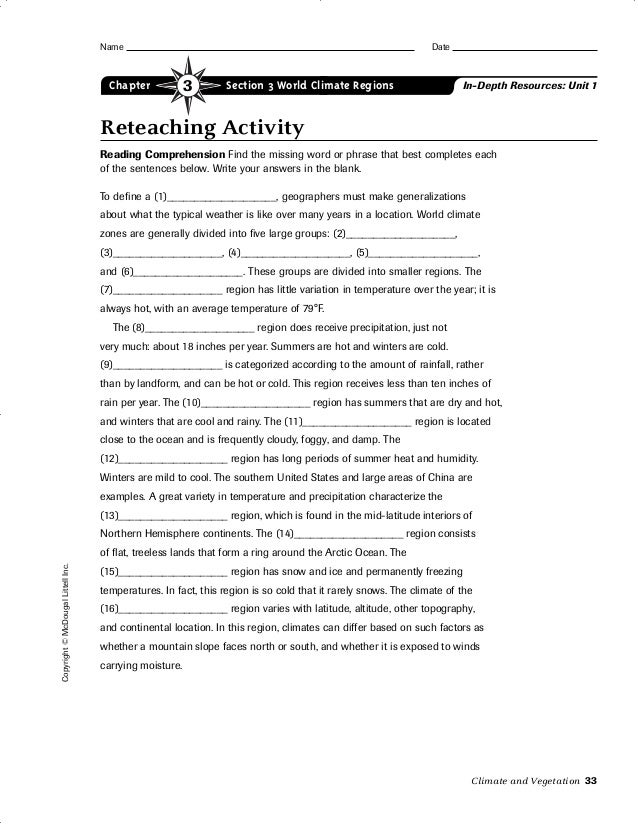 Ch. 3 section 3 worksheet