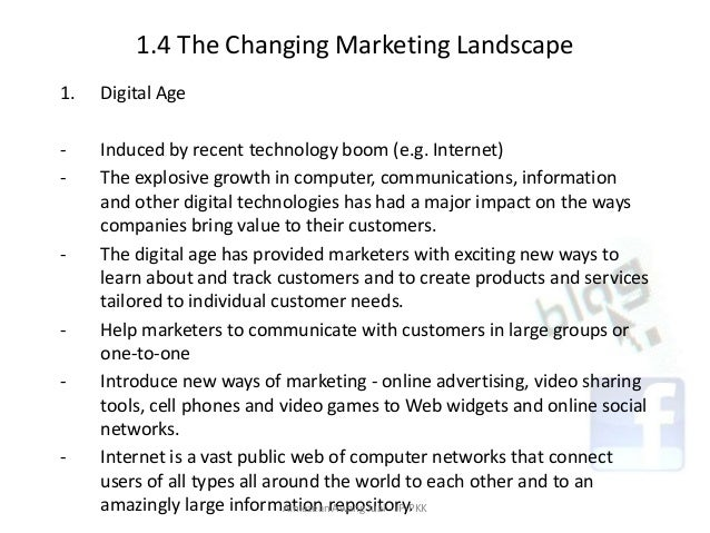 marketing in a changing world Technology is changing marketing how technology is changing marketing and why we need responsive web design is popular in the digital marketing world.