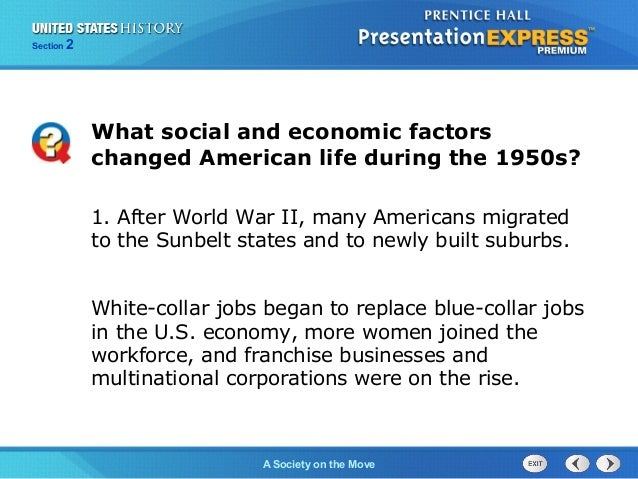 United States History Ch 17 Section 2 Notes