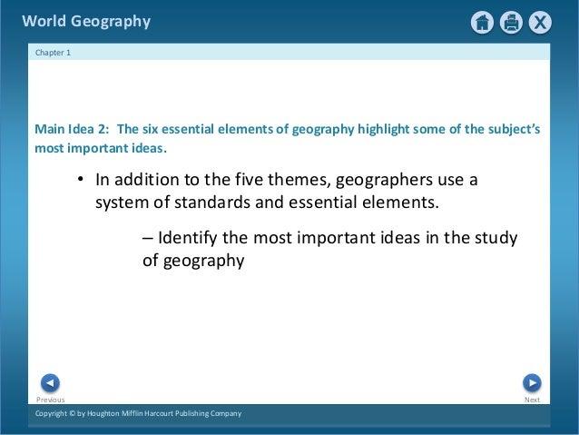 Ch.1 geographer's world