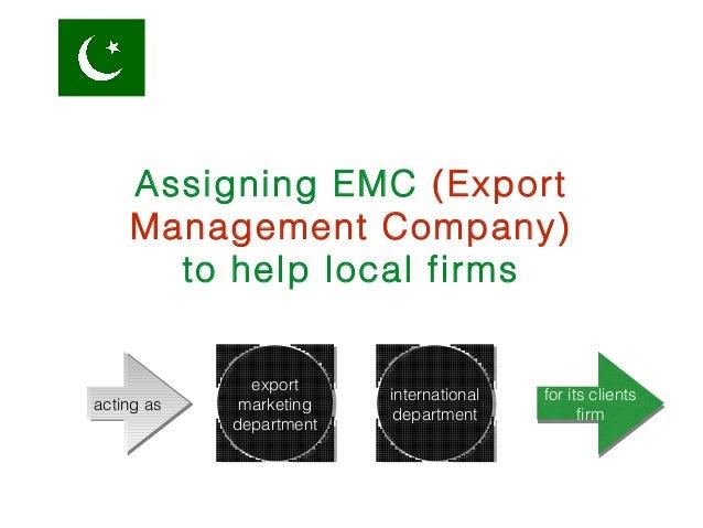 export management company