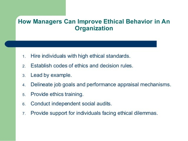 ethical beliefs and obligations to society Managing for organizational integrity  managers must assume responsibility for making tough calls when ethical obligations conflict  and beliefs met with varied reactions from employees.