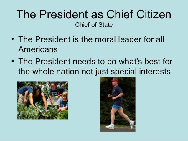Ch 8 The Presidency