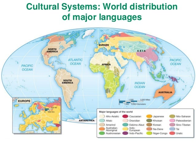 Ch World Languages Religions - World languages map