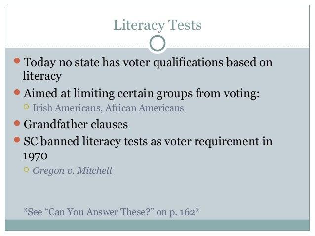 Voters Voter Behavior