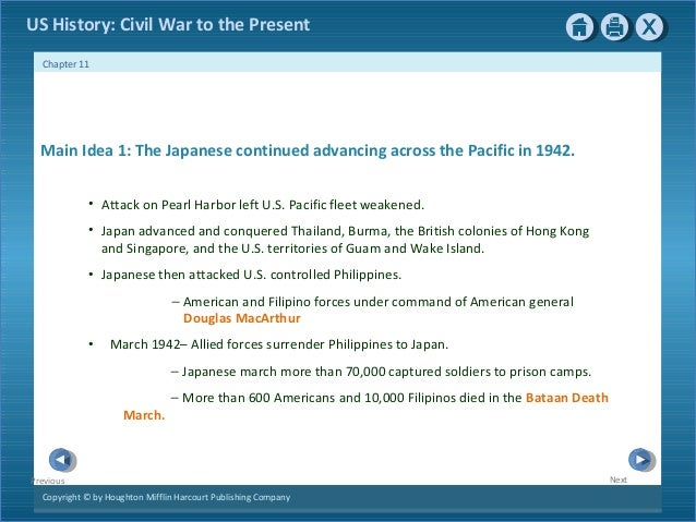 Ch 11 world war ii
