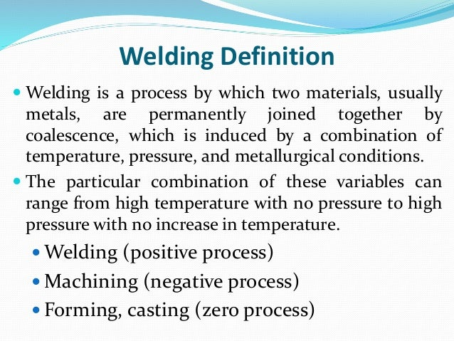 Welding - Fumes And Gases : OSH Answers