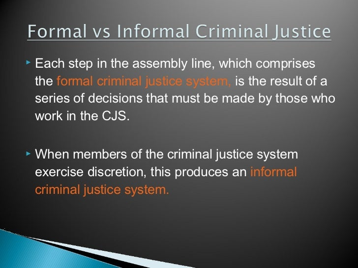 Contrast The Crime Control And Due Process Models
