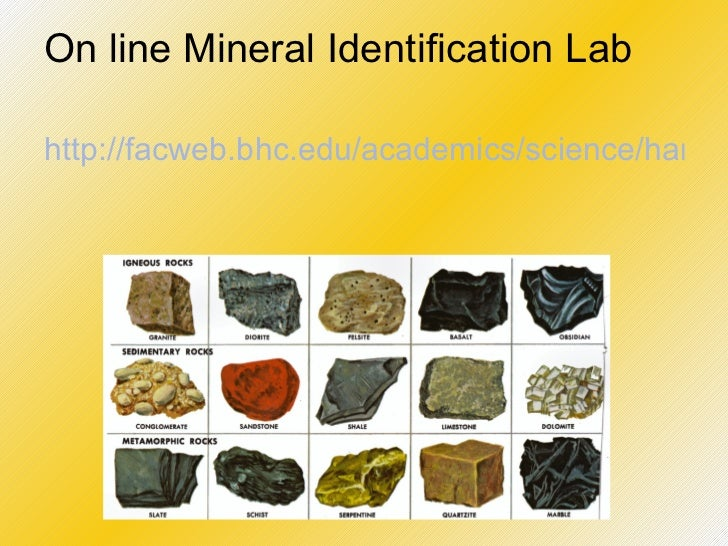 Ch. 2 Minerals
