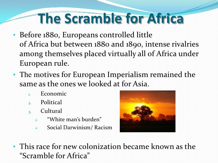 scramble for africa essay the new scramble for africa part  scramble for africa essay gxart orgwhy did britain join the scramble for africa essay essay