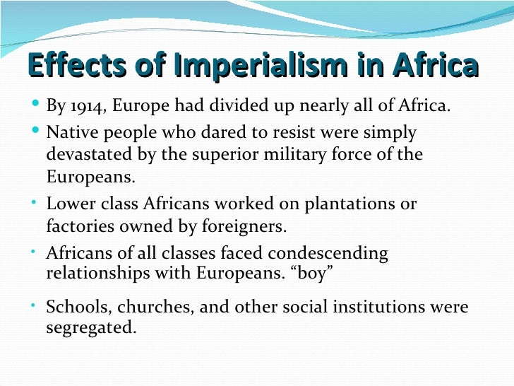 characteristics of new imperialism