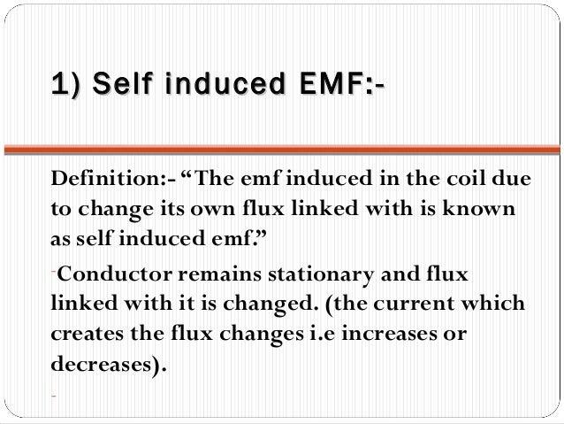 SELF INDUCTANCE DEFINITION PDF