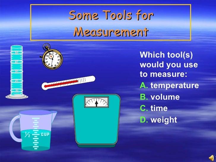 measurement and density