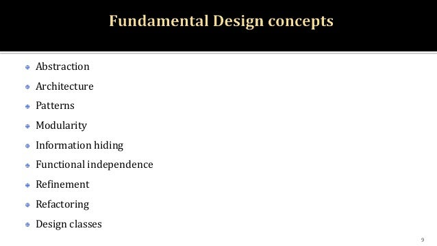 Design Concept Software Engineering