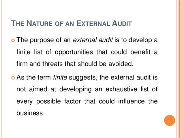 nature of audit This lesson covers the explanation of definition of audit.