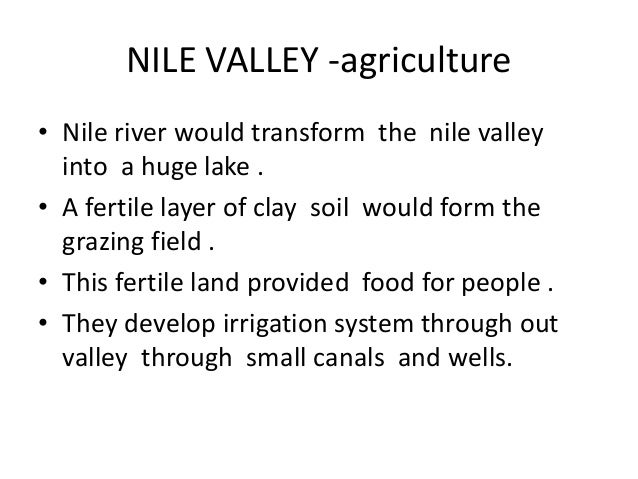 3a. Life along the Nile