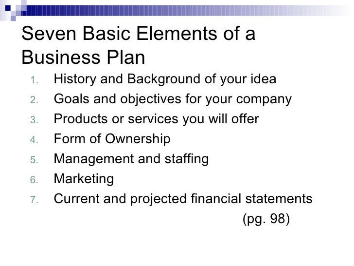 ch 5 business plan