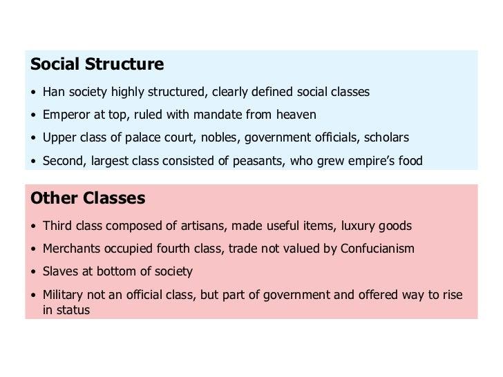 social classes of han china