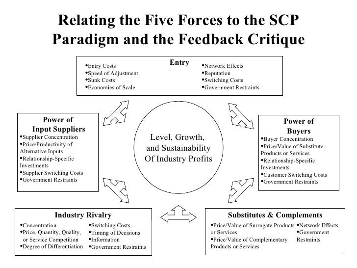 A critique of the structure conduct performance paradigm scp