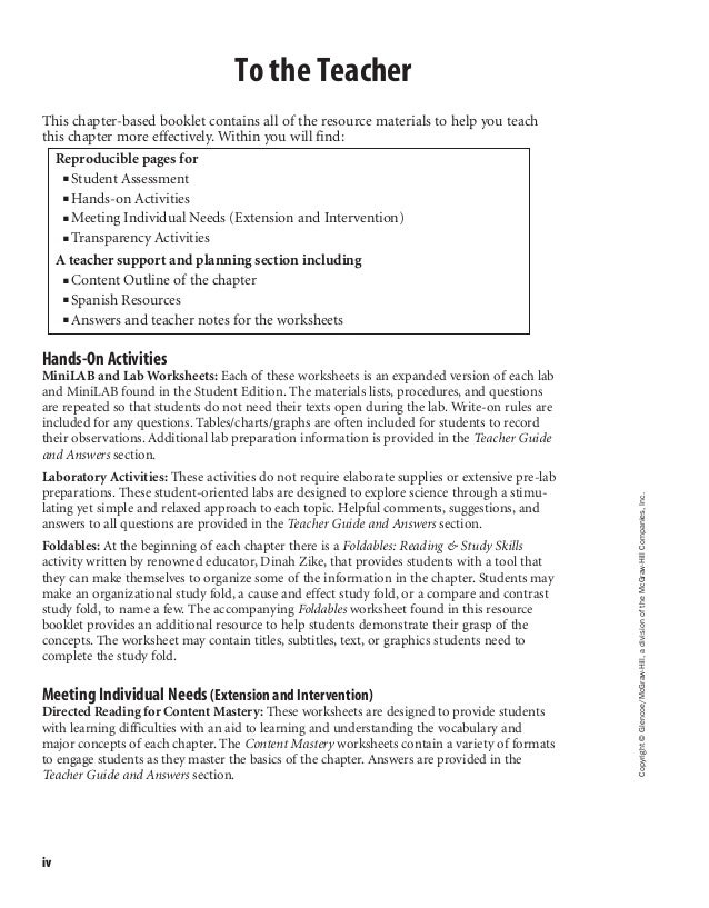 Clification Of Matter Worksheet Mcgraw Hill   Free Printables in addition Mcgraw hill printable math worksheets   Download them or print as well Glencoe Mcgraw Hill Alge 2 Smart Alge 2 Probability Worksheet as well Mcgraw Hill Worksheets Answers together with Hill Social Stus Mcgraw Grade 5 Worksheets Macmillan Workbook Pdf together with Glencoe Mcgraw Hill Alge 1 Homework Practice Workbook Answer Key in addition Chapter 2 Resource Masters in addition  moreover The Mcgraw Hill  panies Math Worksheet Answers Worksheets And For moreover Ch  7 glencoe worksheets furthermore Glencoe Mcgraw Hill Alge 1 Practice Test Unique Glencoe Alge 2 further Bunch Ideas Of Workbook Answers Mr Grimes In Alge 1 Worksheet additionally  besides Glencoe geometry homework practice workbook answers in addition Glencoe Worksheets   Oaklandeffect in addition . on glencoe mcgraw hill worksheet answers