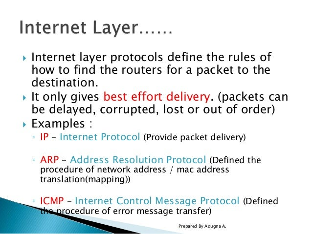 Computer Networking: Internet Protcol (IP) and IP Addressing