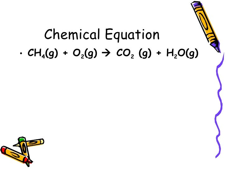 Ch. 8 Chemical Equations And Reactions