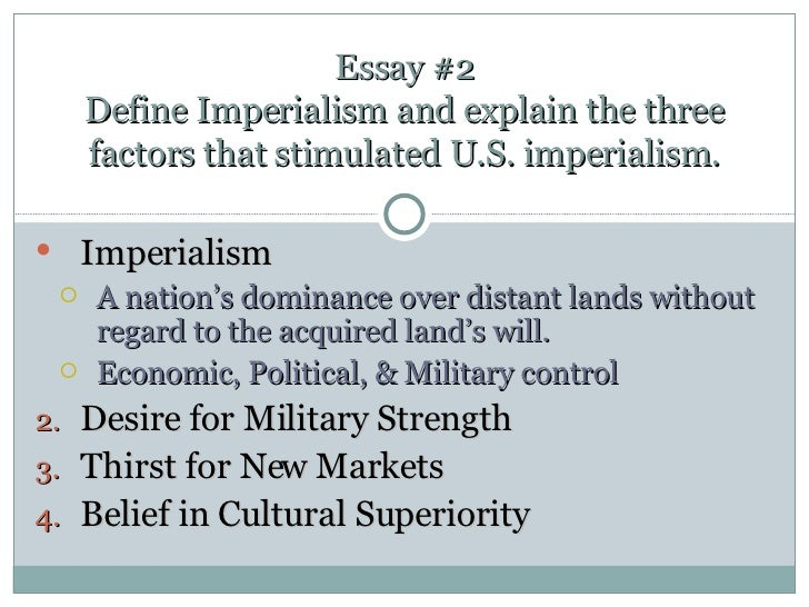 ch review essay questions essay 2 define imperialism