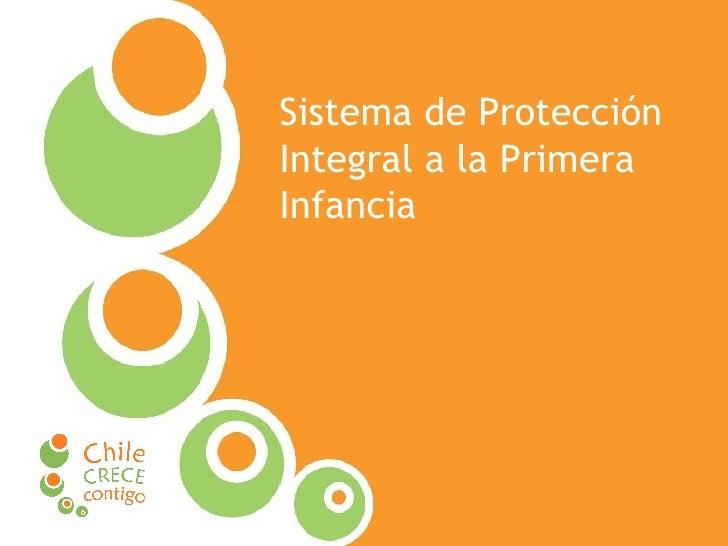Sistema de Protección Integral a la Primera Infancia