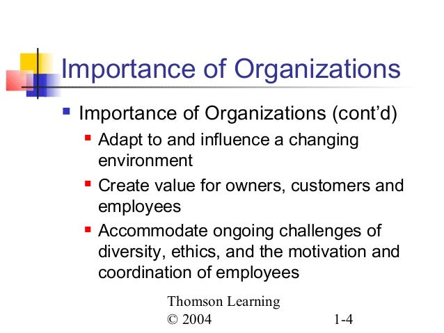ch01 organizations and organization theory Consists of two levels of analysis, individual and organizational, and three broad   in chapter 1, pfeffer discusses the social context of organiza- tion theory.