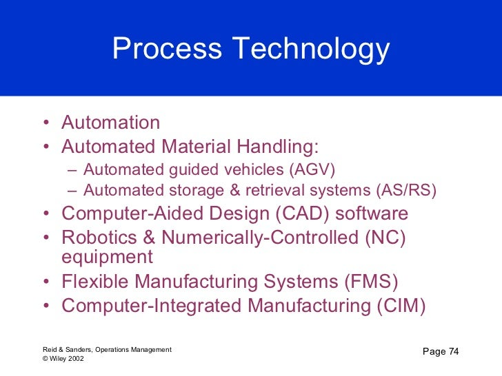 production and operations management explain briefly the computer integrated manufacturing Computer integrated manufacturing (cim) system is known as a system that  integrate all the data and information from business, manufacturing, management   every details and data about production at fkm could be monitored in one  system  for fkm laboratory for the future use this study also will define and  determine.