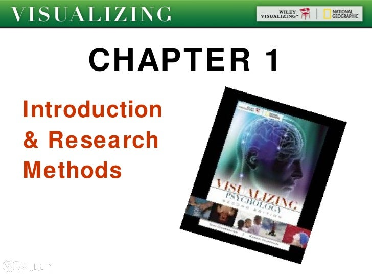 CHAPTER 1Introduction& ResearchMethods