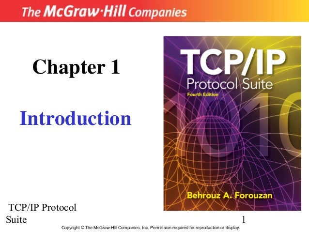 Chapter 1  IntroductionTCP/IP ProtocolSuite                                                                               ...