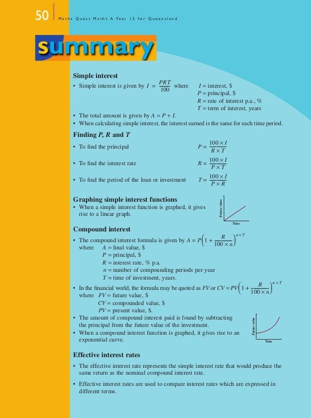 Year 12 Maths A Textbook Chapter 1
