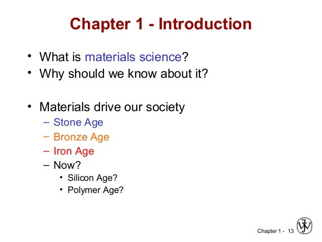 Introduction To Materials Science Amp Engineering