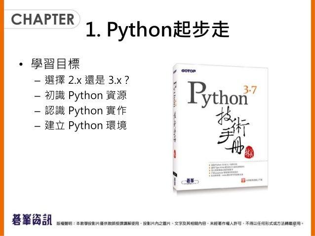 Python 起步走 Slide 2