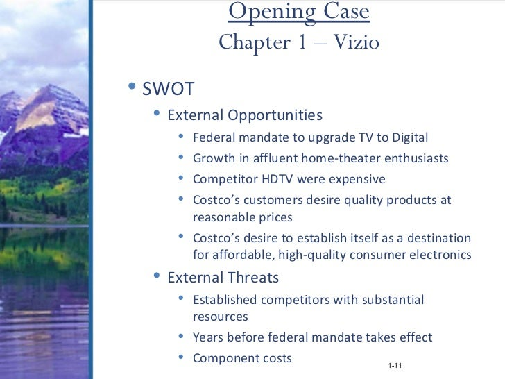 PEST-SWOT template for Visio