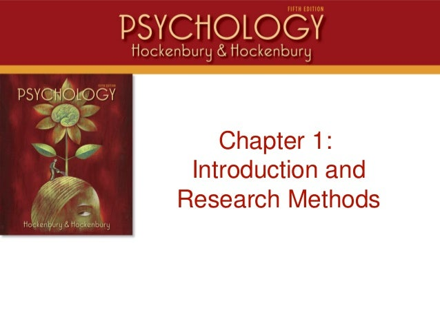 Intro Chapter 1: Introduction and Research Methods