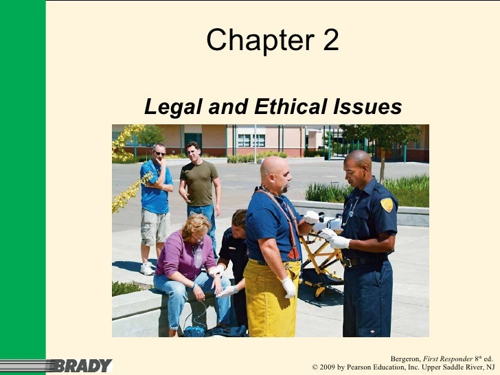Chapter 2 Legal and Ethical Issues