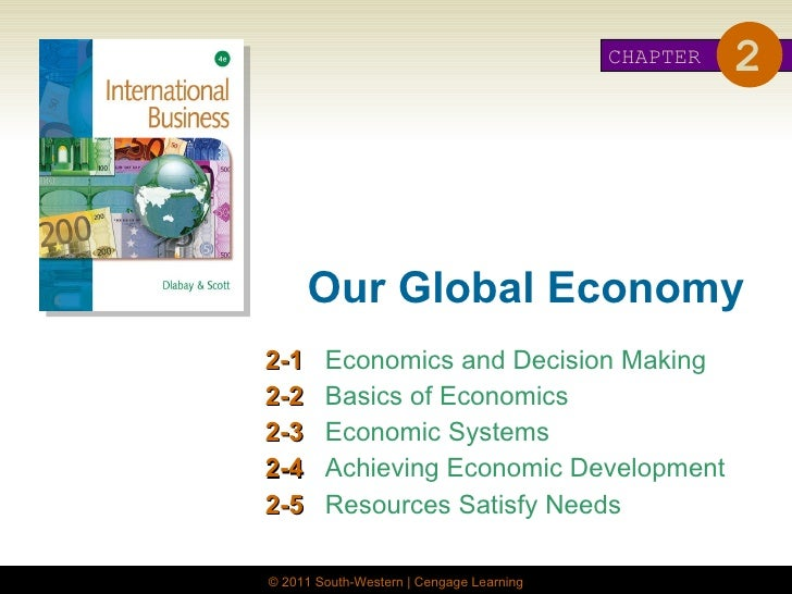 Economics for global decision makers