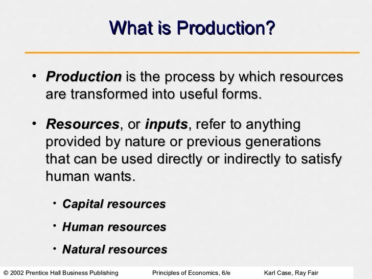 The Economic Problem: Scarcity and Choice Slide 2