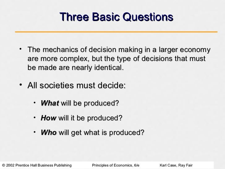 explain scarcity and choice in economics