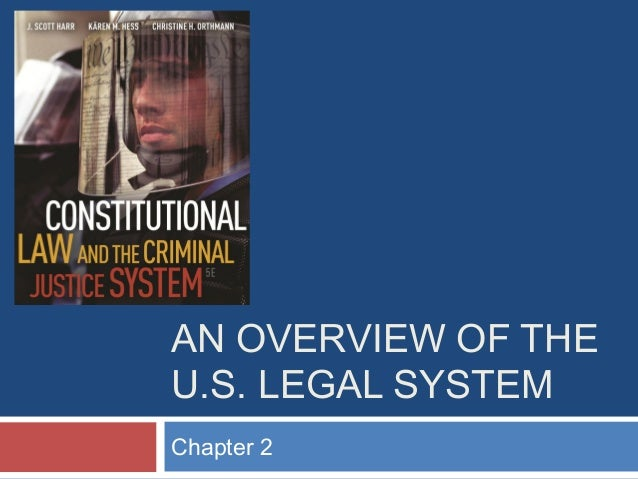 AN OVERVIEW OF THE U.S. LEGAL SYSTEM Chapter 2