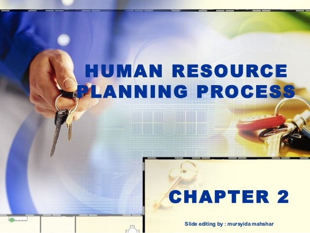HUMAN RESOURCEPLANNING PROCESS      CHAPTER 2       Slide editing by : mursyida mahshar