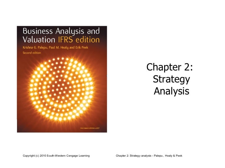 Chapter 2:  Strategy Analysis
