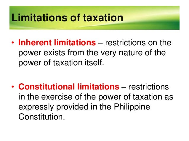Scope and limitations of poverty in the philippines