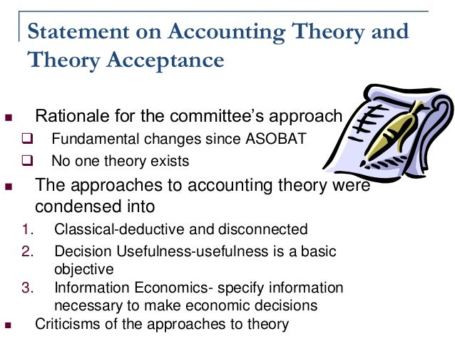The critique of accounting theory