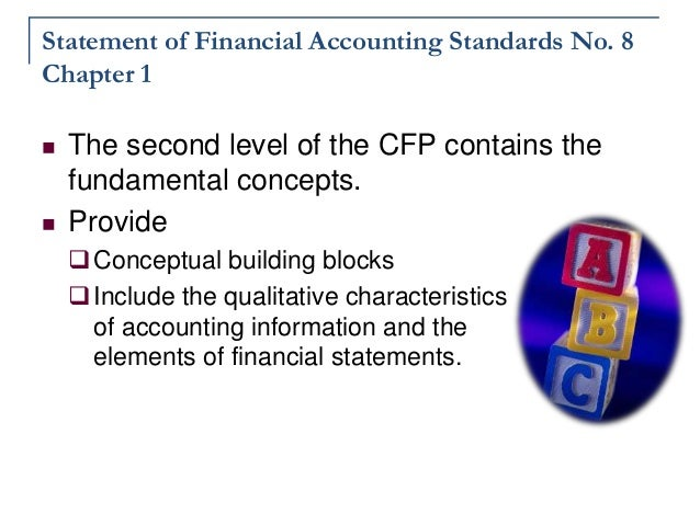 Conceptual Framework Accounting Building Blocks