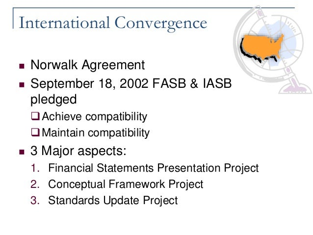 a converged conceptual framework An improved and converged conceptual framework with the issue of chapter 1: the objective of general purpose financial reporting and chapter 3:  ifrs in focus 2.