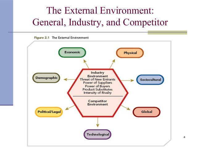 Influence of the external environment on strategic decision